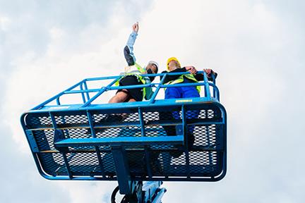 Manejo preventivo de plataformas elevadoras