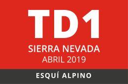 Convocatoria de TD1 en Esquí Alpino. Sierra Nevada, abril de 2019