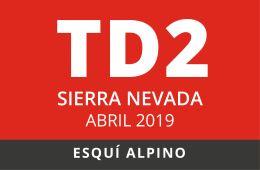 Convocatoria de TD2 en Esquí Alpino. Sierra Nevada, abril de 2019