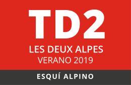 Convocatoria de TD2 en Esquí Alpino. Les Deux Alpes, verano 2019