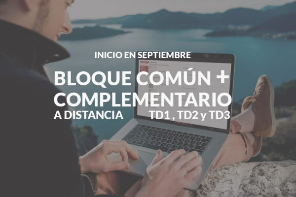 Bloques común y Complementario on line