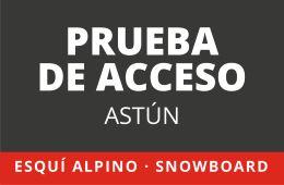 Prueba de acceso para TD1 en Esquí Alpino y Snowboard – ASTÚN