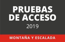 Prueba de acceso Montaña y Escalada en Madrid