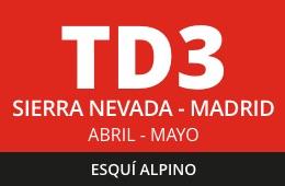 Convocatoria de TD3 Esquí Alpino. Sierra Nevada – Madrid. Abril – mayo 2020