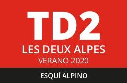 Convocatoria de TD2 en Esquí Alpino. Les Deux Alpes, verano 2020