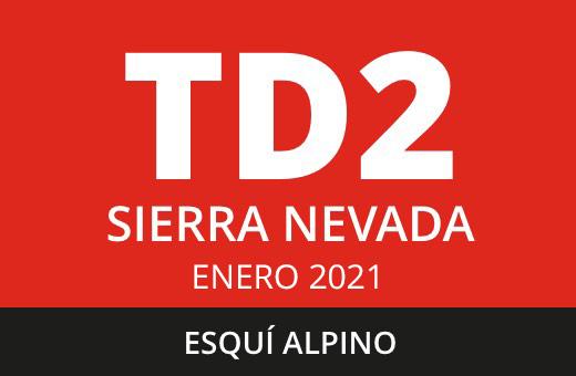 Convocatoria de TD2 Esquí Alpino. Sierra Nevada. Enero 2021