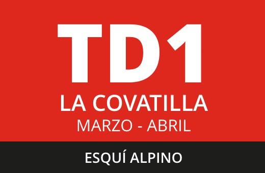 Convocatoria de TD1 de Esquí Alpino. La Covatilla. Marzo – abril 2021