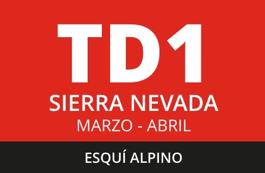 Convocatoria de TD1 de Esquí Alpino. Sierra Nevada. Marzo – abril 2021