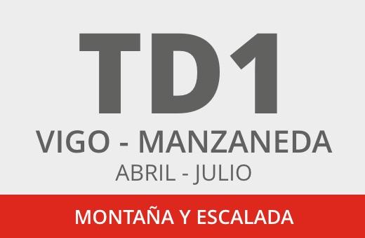 Convocatoria TD1 Montaña y Escalada. Vigo – Cabeza de Manzaneda . Abril – julio 2021